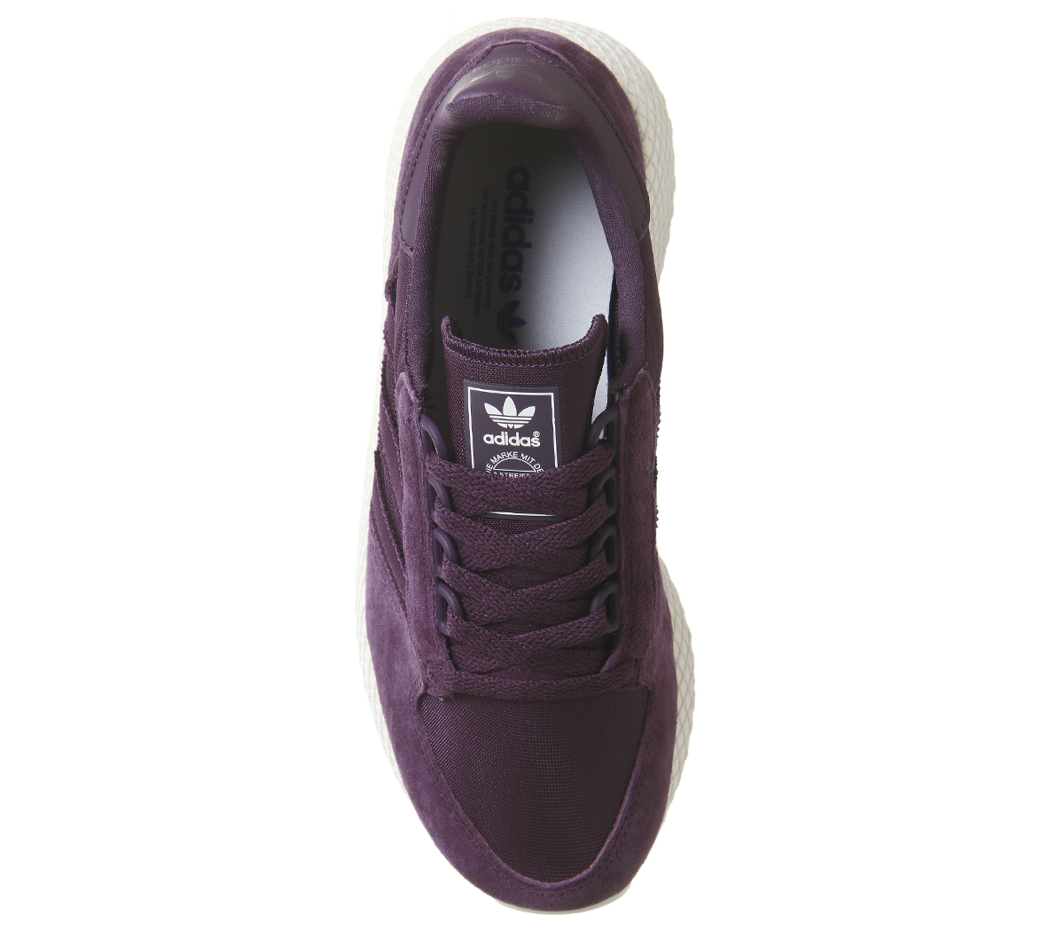 Damenschuhe Adidas Forest Grove Trainers ROT NIGHT Weiß CLOUD Weiß NIGHT GREY ONE Trainers Schuhe 7f5428