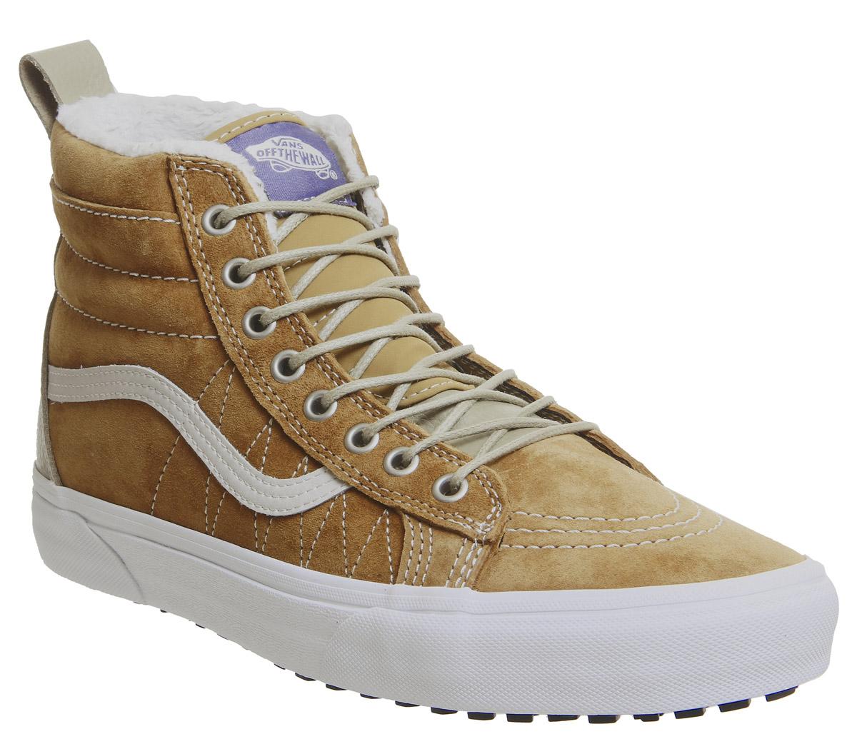 fbe901b5a4034e Sentinel Vans Sk8 Hi Mte Trainers Cumin Slate Green Trainers Shoes