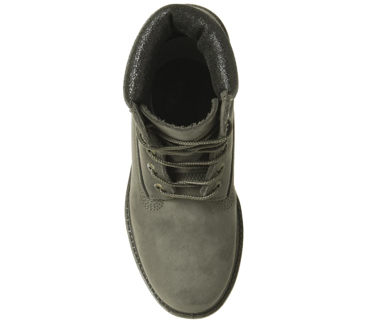 d3437b790049 Womens Timberland Premium 6 Boots Multi Canteen Nubuck Metallic ...