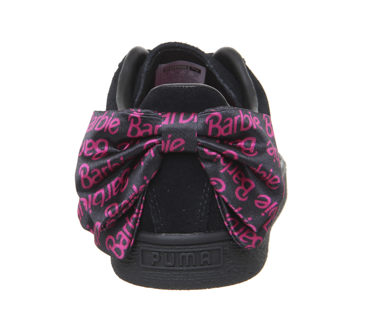 666febd807a1b SENTINEL Donna Puma Suede Classic allenatori Barbie Team formatori nero oro  scarpe