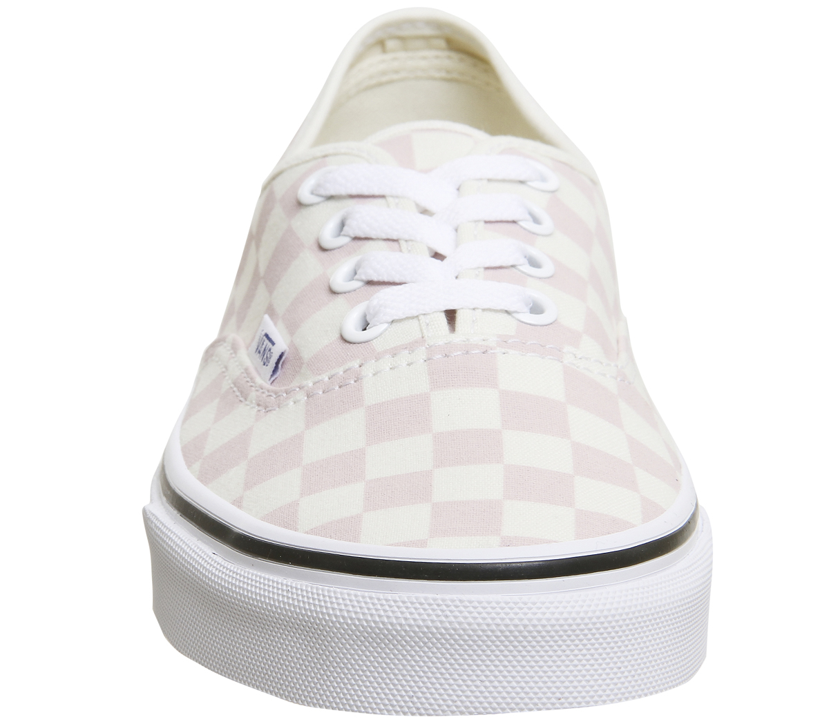 Sentinel Vans Authentic Trainers LIGHT PINK WHITE CHECKERBOARD Trainers  Shoes 738ad34d6