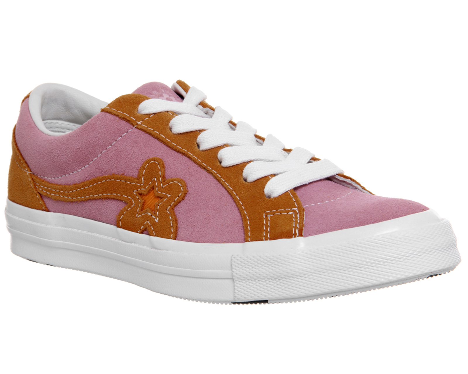 4a7a660d8be55 Détails sur Chaussures Femme Converse ONE STAR baskets TTC Candy Rose  Orange Peel Blanc Baskets Chaussures- afficher le titre d origine
