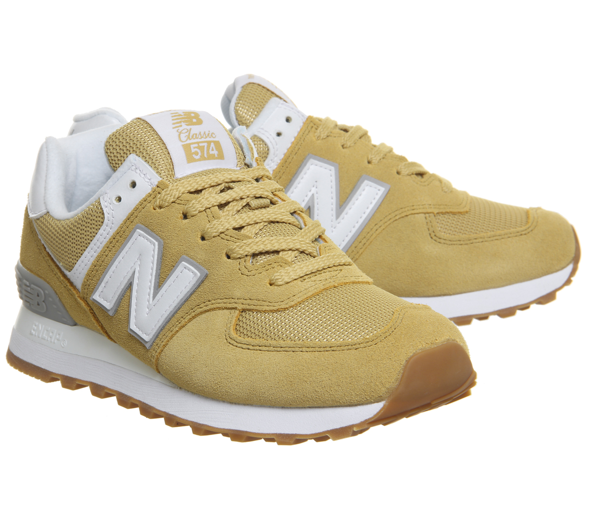 new balance beige mujer 574