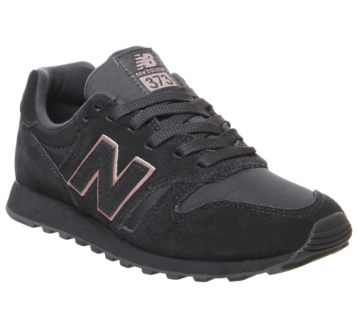 innovative design 5fb72 e02d0 Détails sur Chaussures Femme New Balance Wl373 Baskets Phantom Or Rose  Exclusive Trainers Shoes- afficher le titre d origine