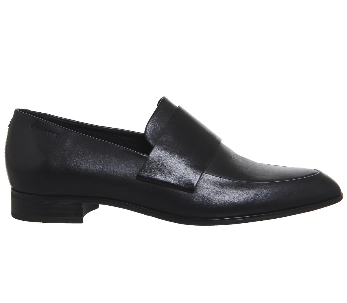 Womens Frances Leather Slip On Loafer Black Vagabond Many Styles Free Shipping Online dbG5ed8Bj