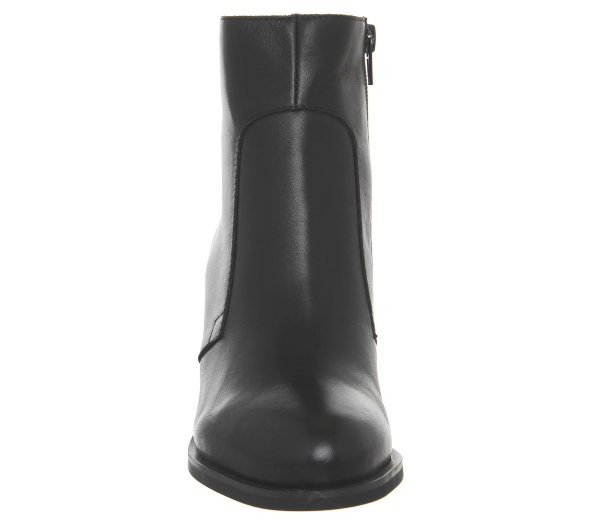 Damenschuhe Schuhe the Bear Ceci Ankle Stiefel BLACK LEATHER LEATHER LEATHER Stiefel e37fcf