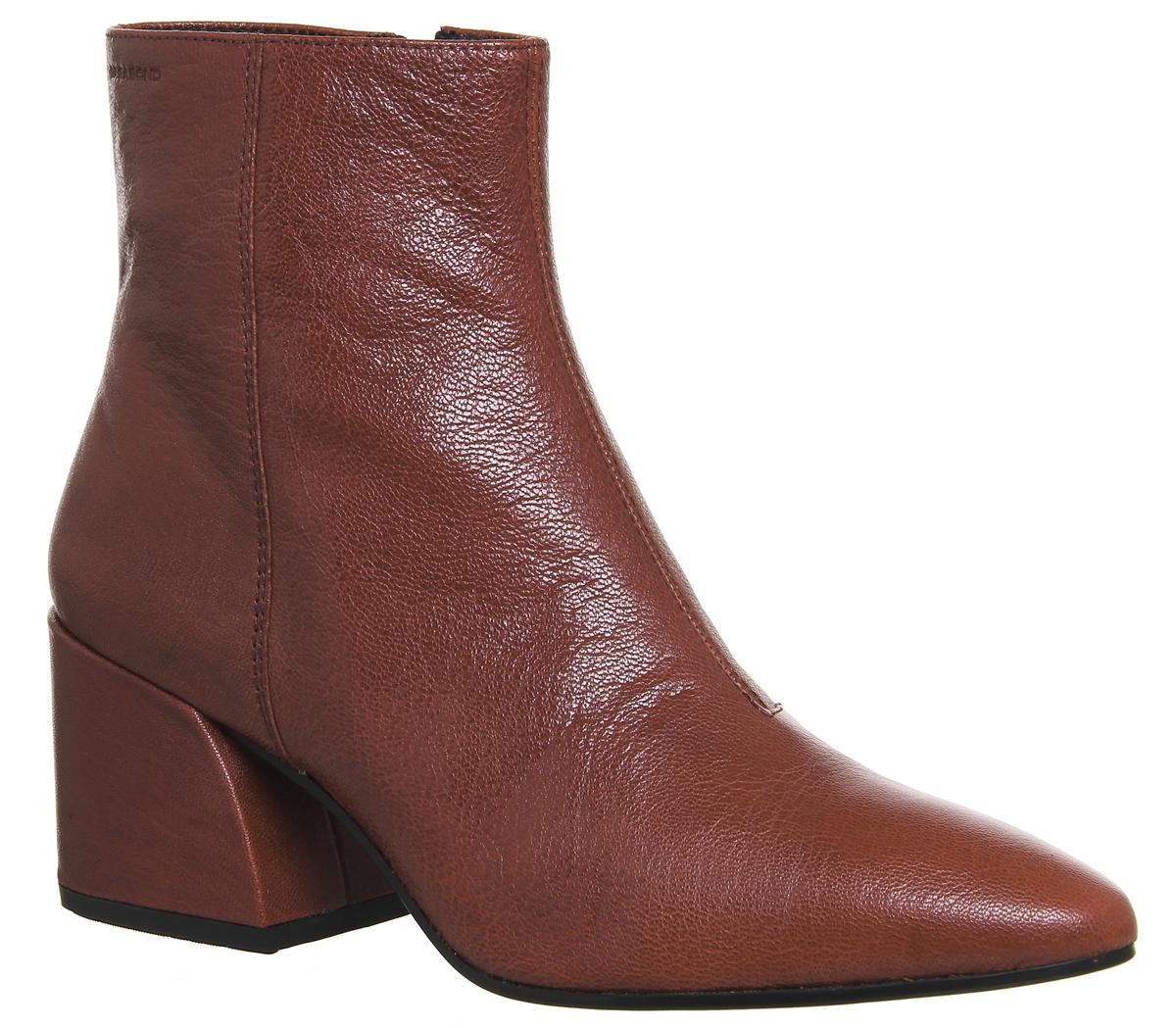 donna Heel Olivia pelle in Heel Vagabond Block da rossa Boots 4PAT1