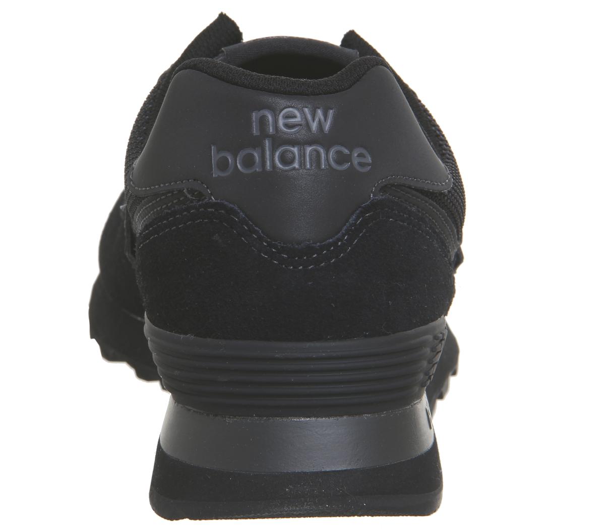 Zapatillas 574 New Balance negras Zapatillas Balance negras Zapatillas New New negras 574 qFP1RTWn