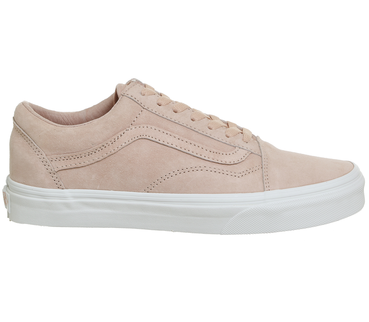 Sentinel Mens Vans Old Skool SPANISH VILLA SUEDE TRUE WHITE Trainers Shoes 17b3685ec2fd