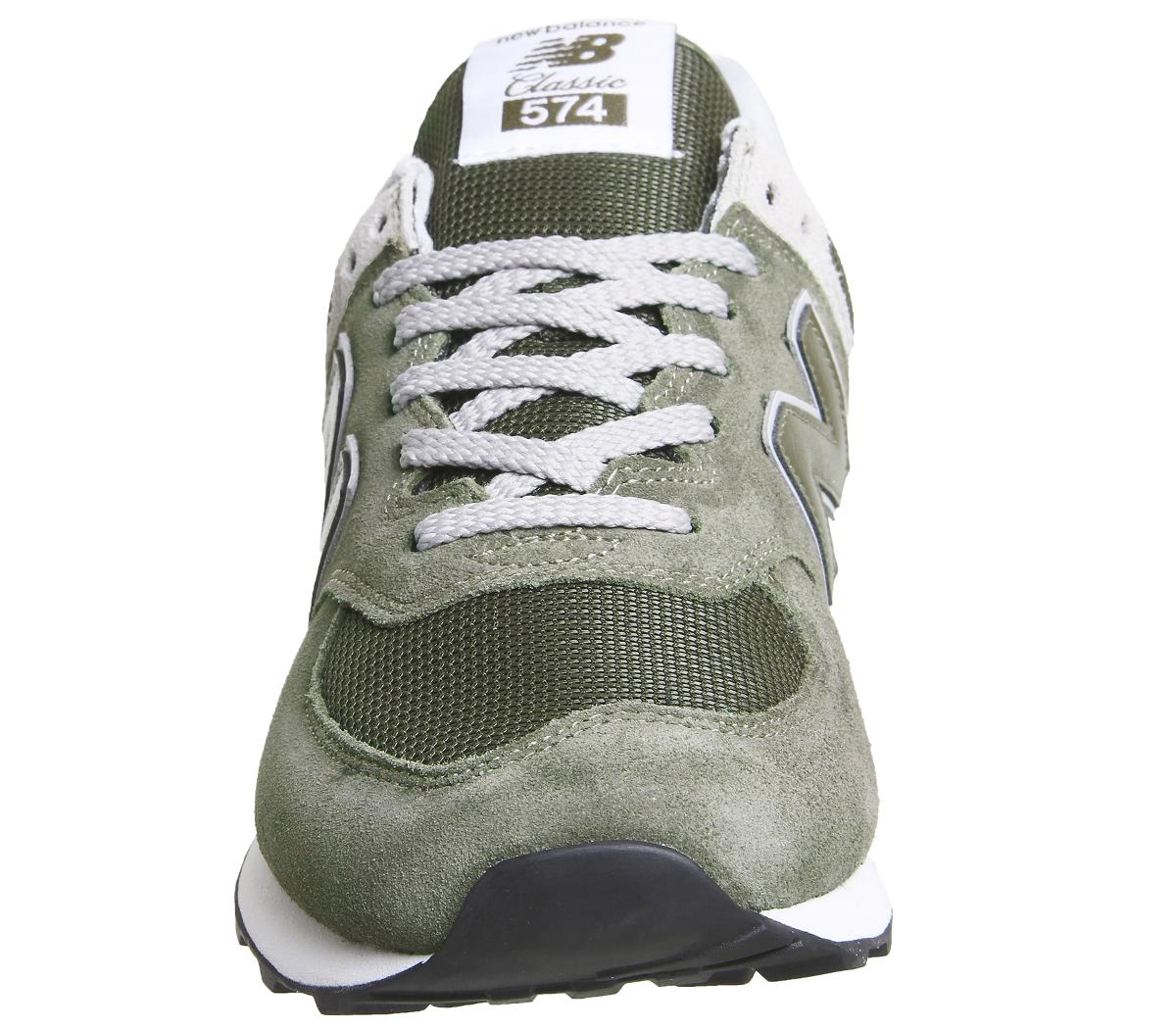 d38abe70d 574-Tenis-Caqui-Tenis-New-Balance-Zapatos miniatura 3