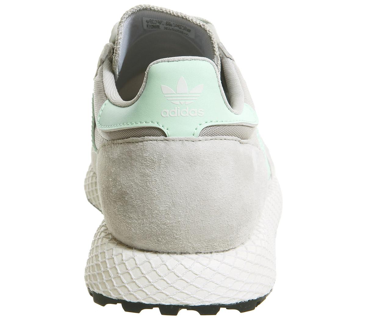 finest selection 75626 74a59 SENTINEL Womens Adidas Forest Grove formatori sesamo nero scarpe da  ginnastica scarpe bianco. SENTINEL Thumbnail 5