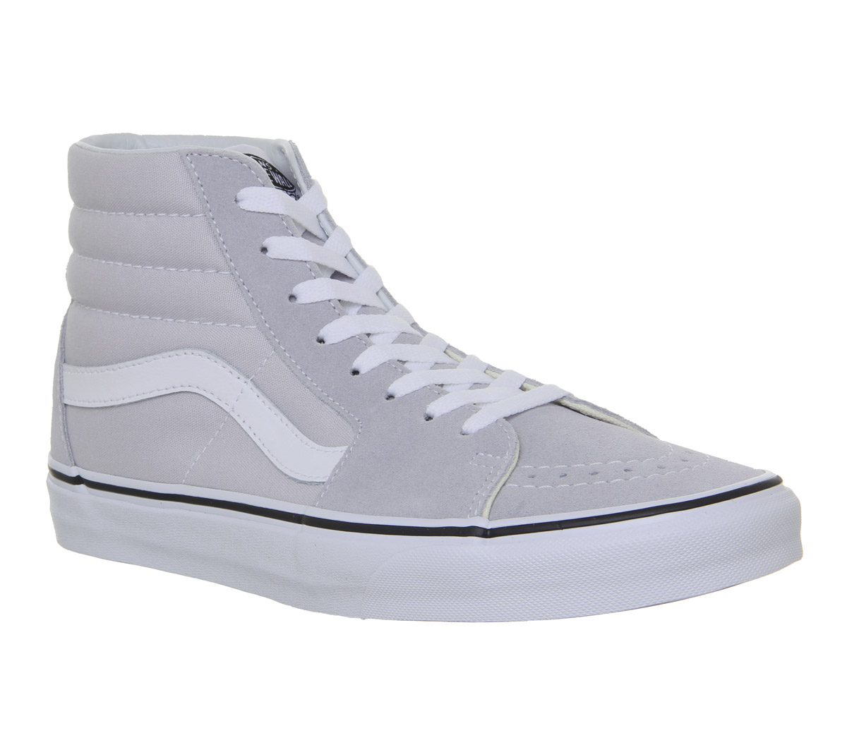 aaf82ae1eb Sentinel Thumbnail 1. Sentinel Womens Vans Sk8 Hi Trainers Gray Dawn True  White Trainers Shoes