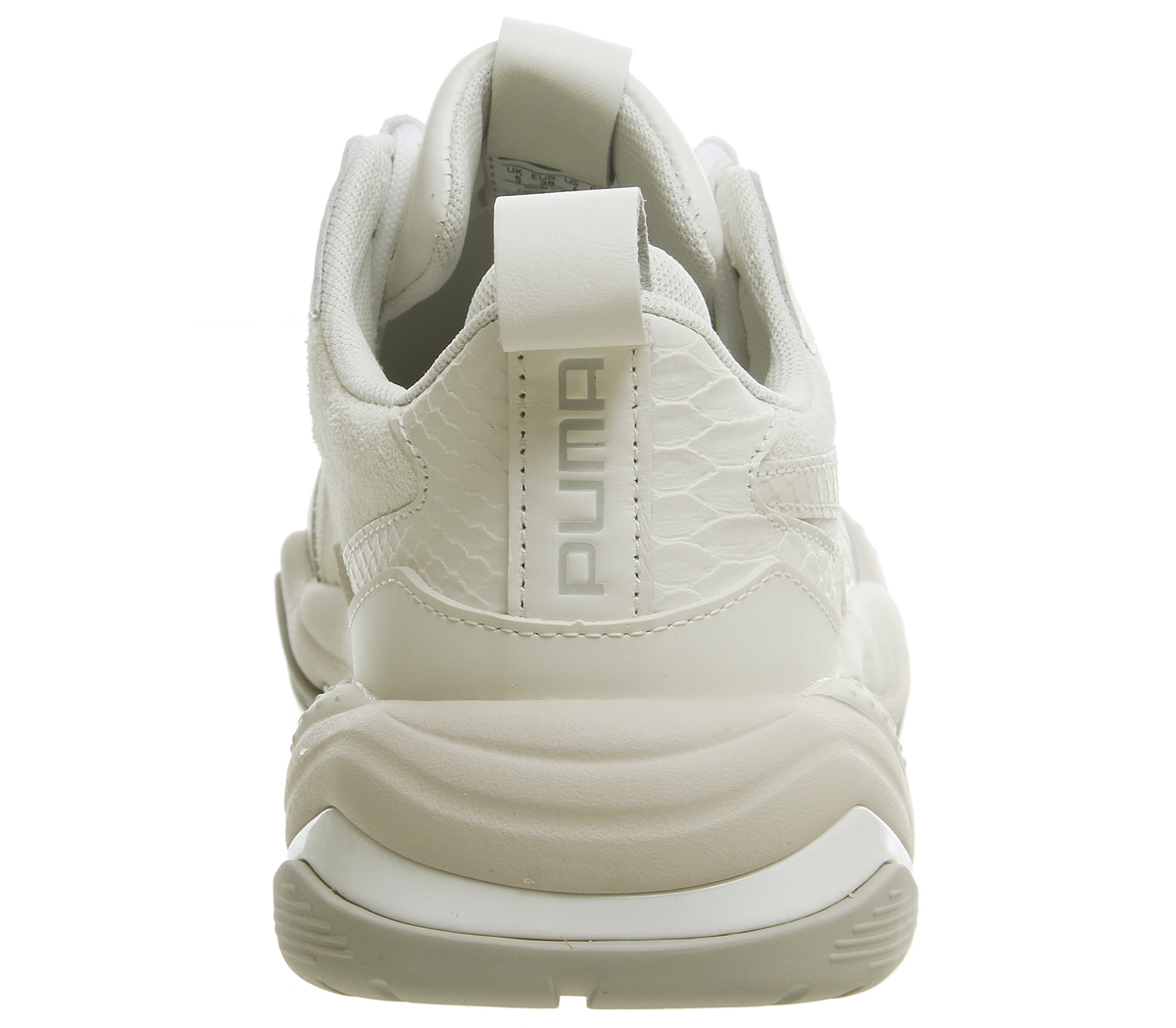 99aab48eac610d Puma Thunder Desert Trainers Bright White Star Grey Violet Trainers ...