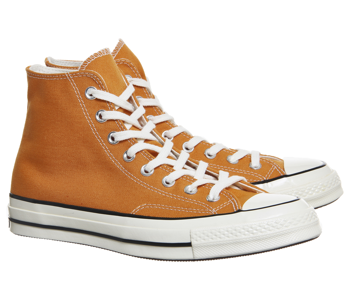 2149aa791518 Mens Converse All Star Hi 70S Trainers Tangelo Black Egret Trainers ...
