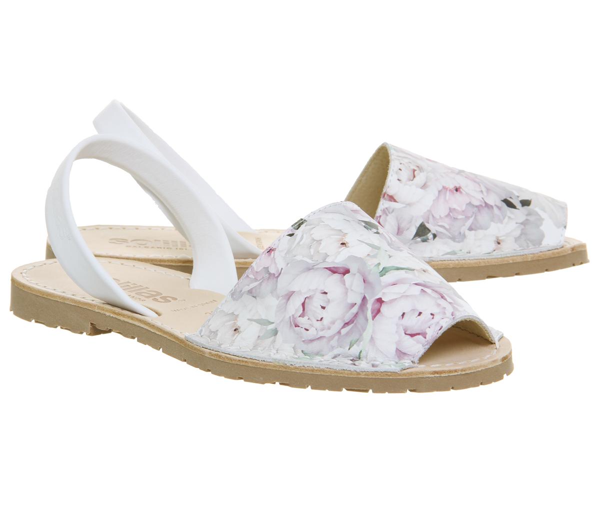 6f9b5077fbbc Womens Solillas Solillas Sandals Floral Print Sandals