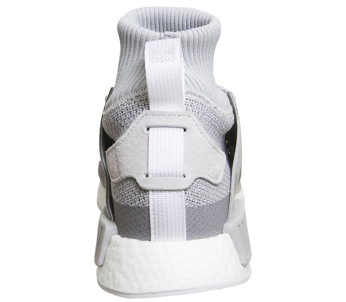 aecf3e07b Sentinel Adidas Nmd Zr1 Winter Grey Two White Trainers Shoes