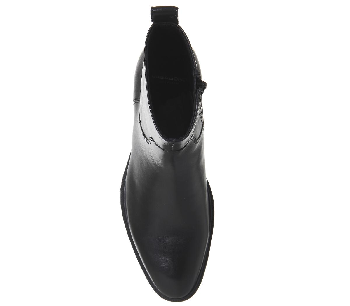 0e53c58cf CENTINELA CUERO negro botas de corte alto de las mujeres vagabundo Meja