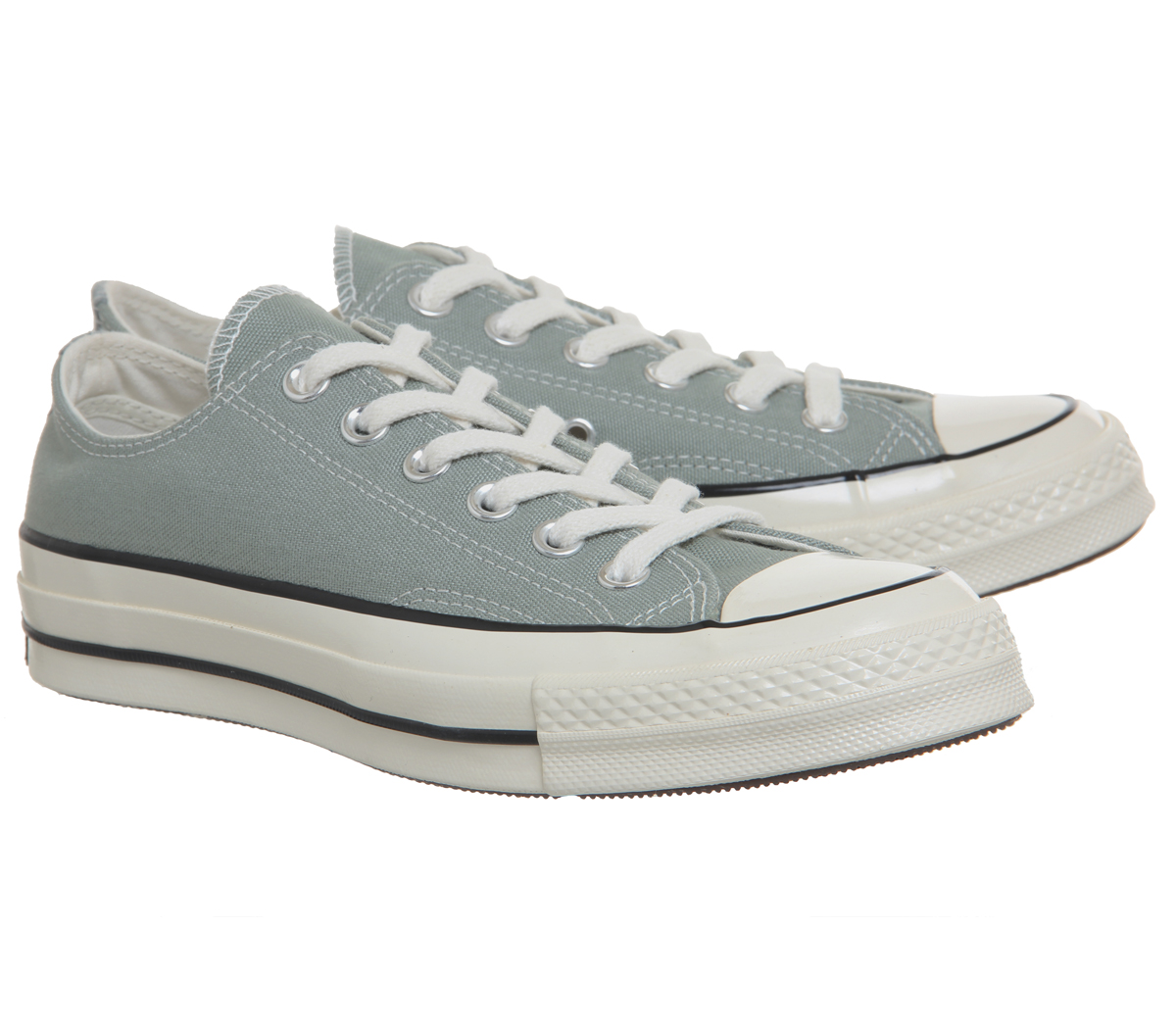 e64e21aac09 Converse All Star Ox 70 Trainers Mica Green Black Egret Trainers ...