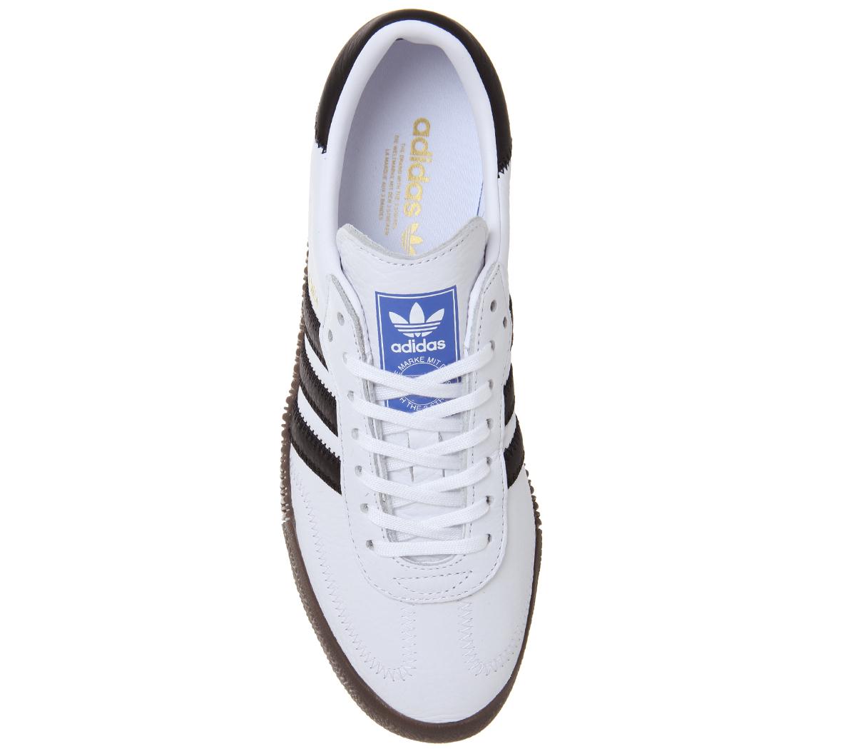 Trainers Rose Samba Gum Noir Adidas Blanc Chaussures Core Femme 6gfybvY7