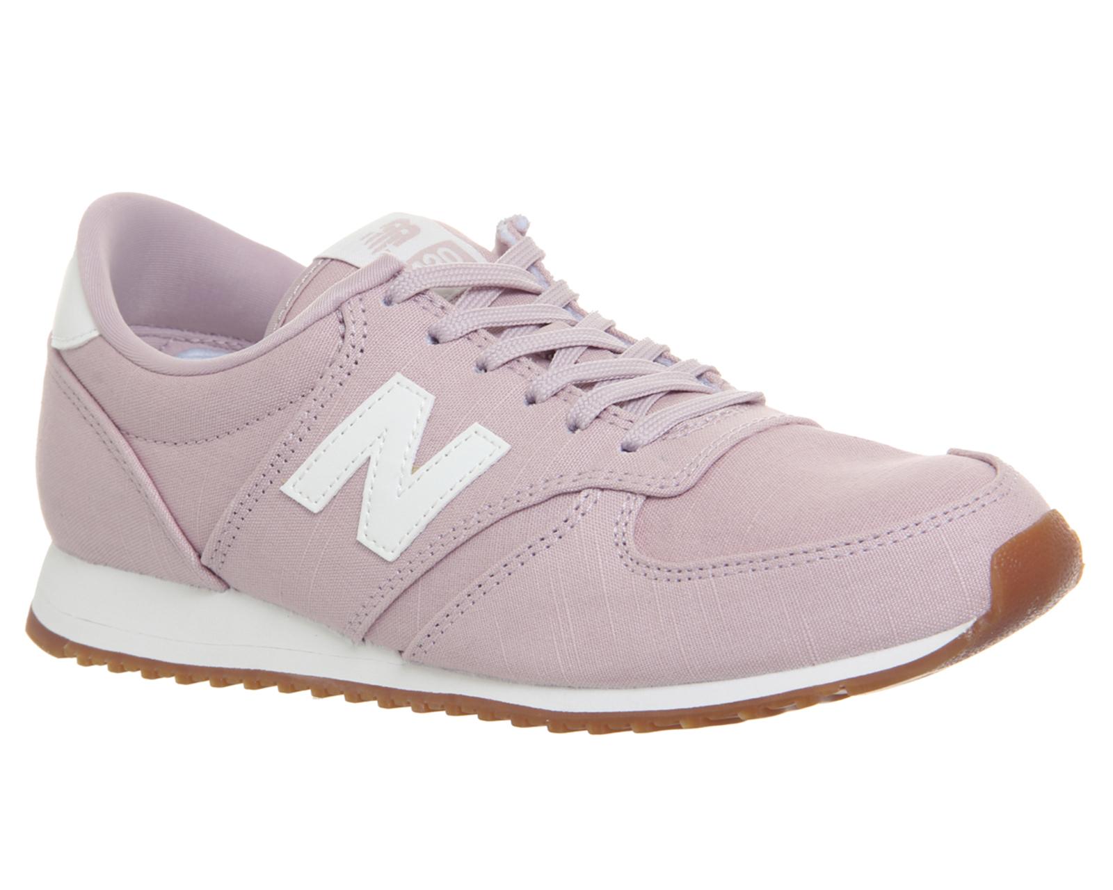 new balance 420 gris y rosa