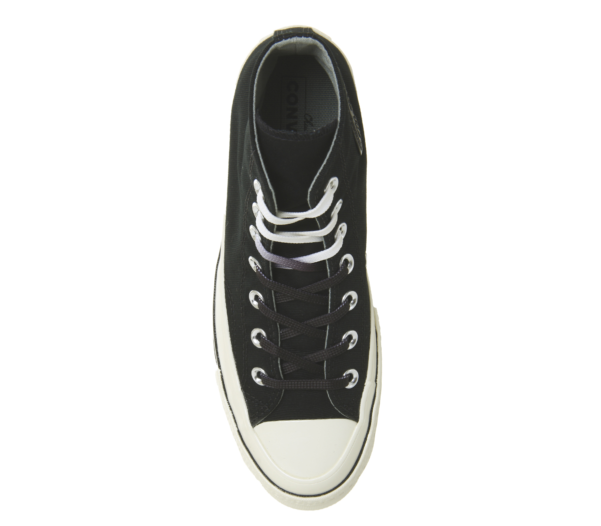 Herren Converse All Star Hi 70 70 70 Trainers BLACK EGRET SPLIT Trainers Schuhes f8fef7