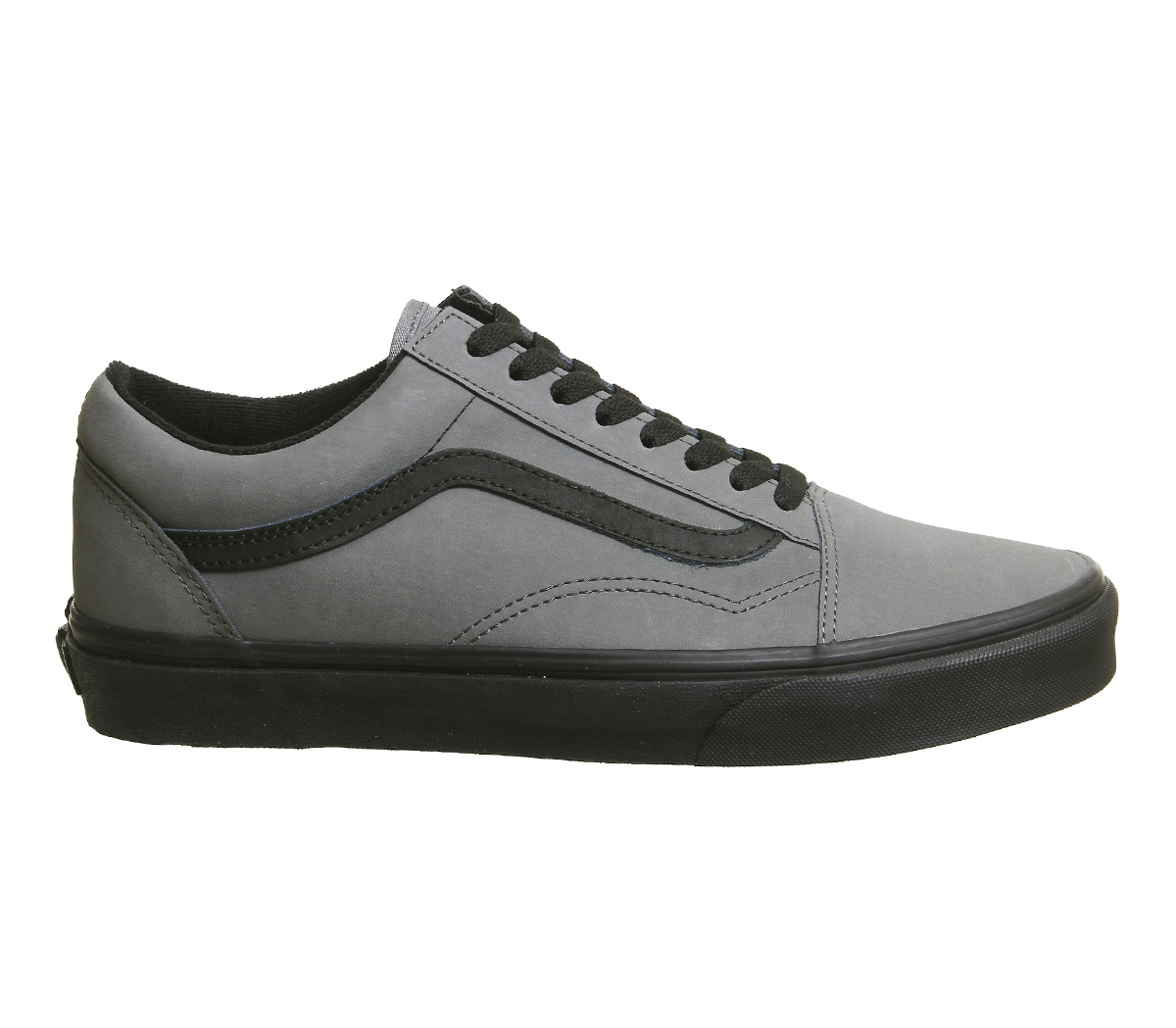 Zapatillas negras de Skool para Zapatillas Old mujer Vansbuck Furgonetas peltre x4wnA6ZXqx