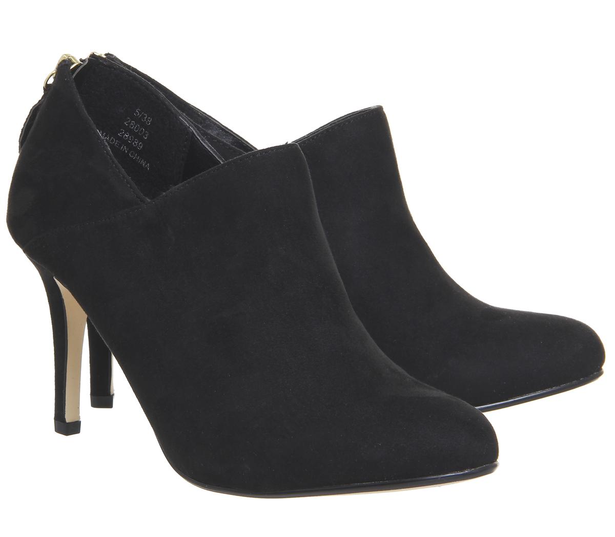 Femme Bureau Maverick Chaussure Bottes Noir Noir Noir Talons df48f6