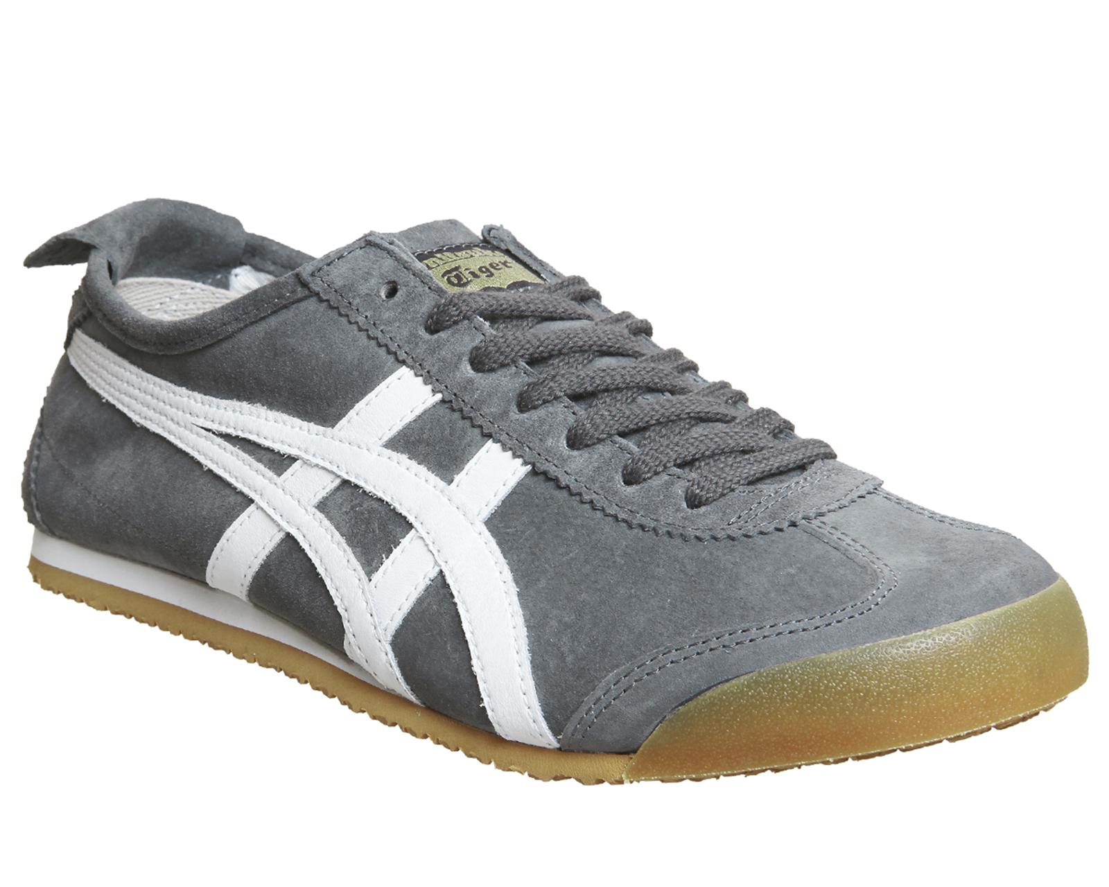 5fb4d47177d33 CENTINELA Onitsuka Tiger Mexico 66 goma blanco gris zapatillas zapatos