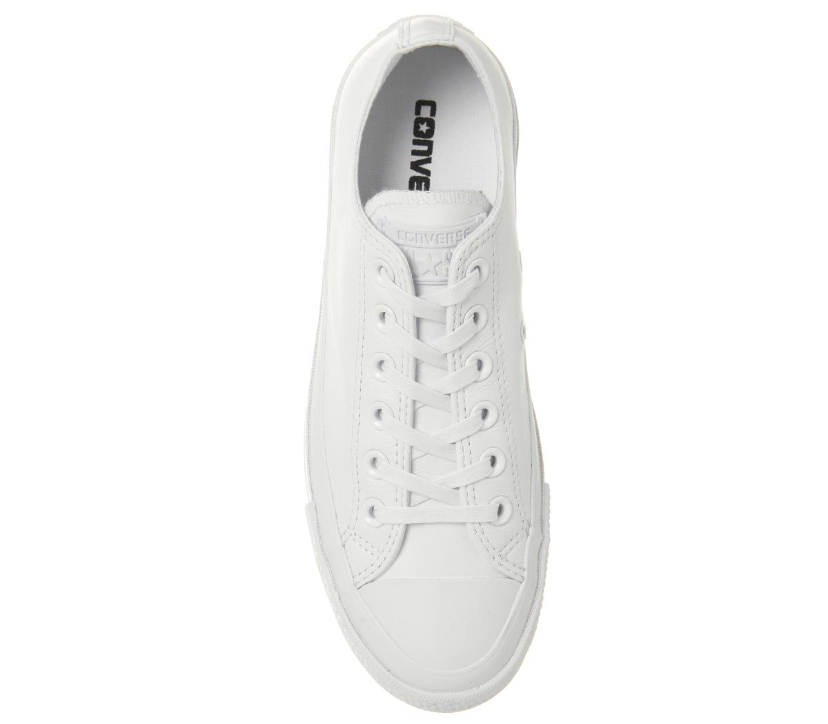 Damenschuhe Ox Converse Chuck Taylor All Star Lift Ripple Ox Damenschuhe Weiß MONO Trainers Schuhes 3d813b