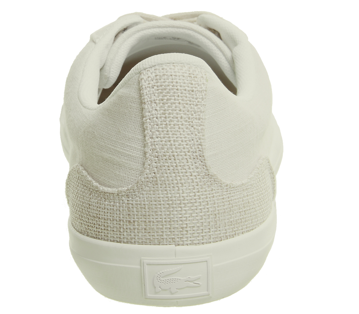 Lacoste Lerond Trainers WHITE NATURAL Trainers Shoes