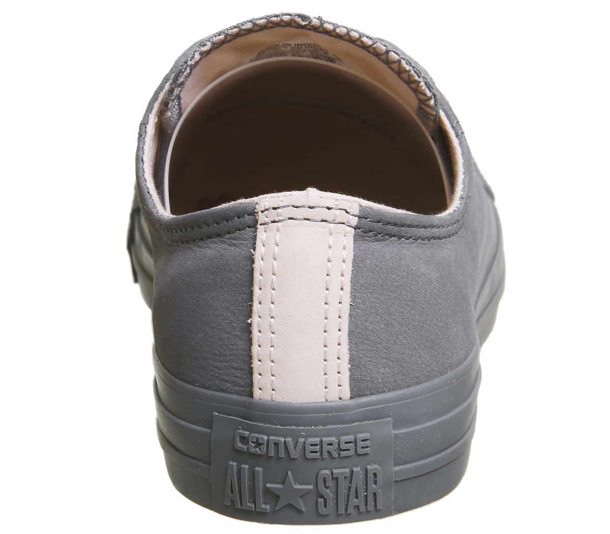 84e909c703c3 Womens Converse All Star Low Leather Light Carbon Potpourri Trainers ...