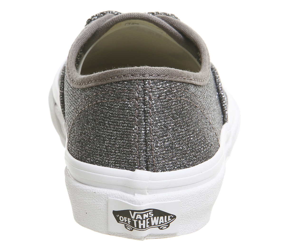 fa8d836d9c Kids Vans Authentic Kids Trainers Black True White Glitter Kids