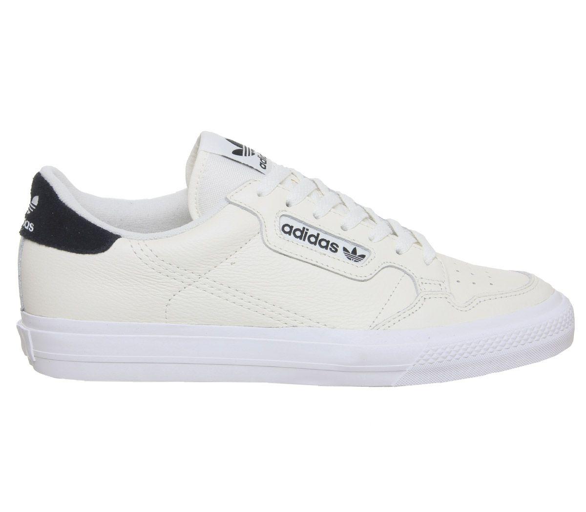 Dettagli su Da Uomo Adidas Continental Vulc Scarpe Da Ginnastica Bianco  Sporco Scarpe da ginnastica Core Black- mostra il titolo originale