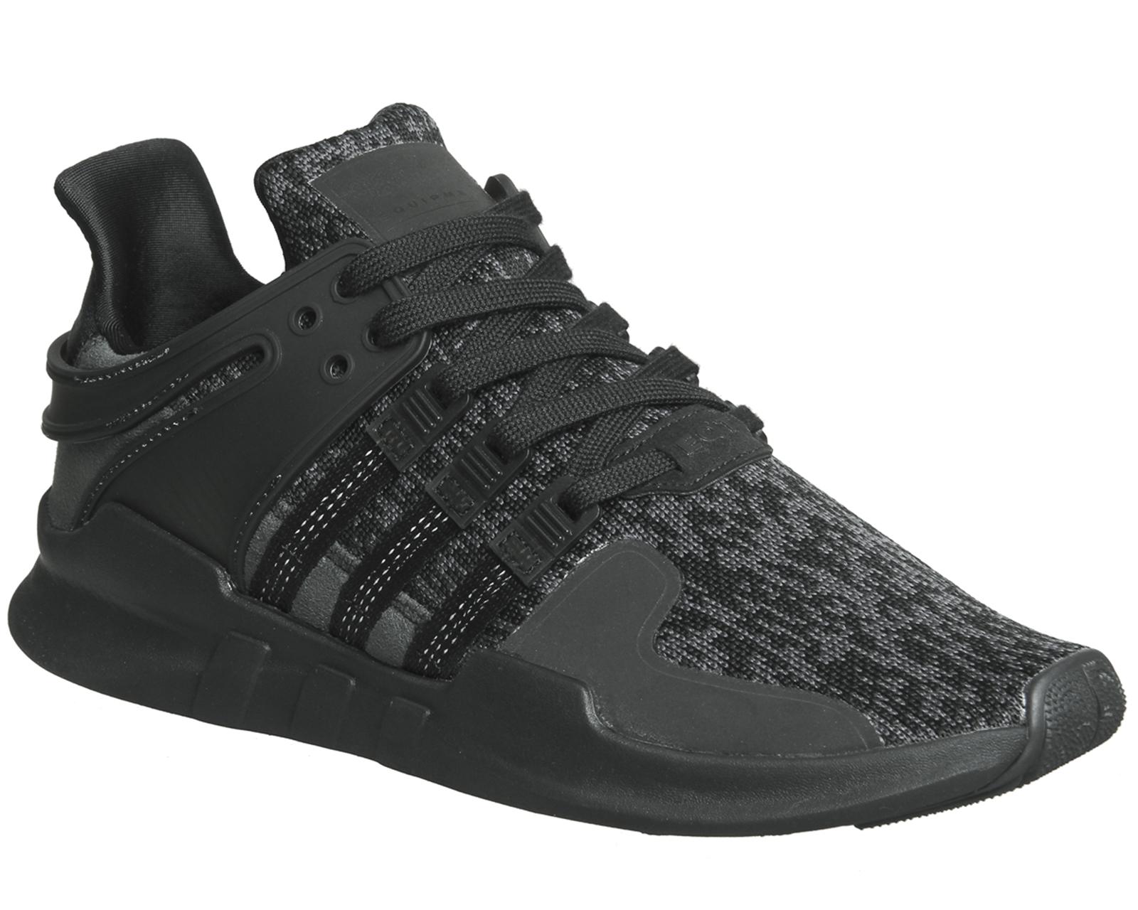 Detalles de Para Hombre Adidas Equipment Adv Negro Mono Zapatillas Zapatos  Support- ver título original aa374739e62
