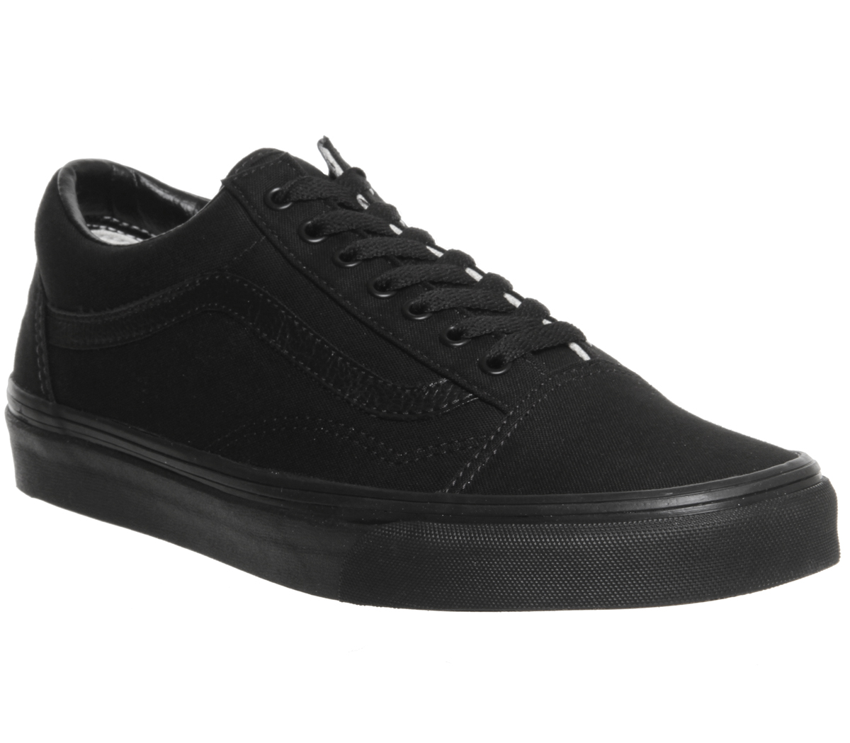 5a021419ff Sentinel Mens Vans Old Skool Trainers Black Trainers Shoes