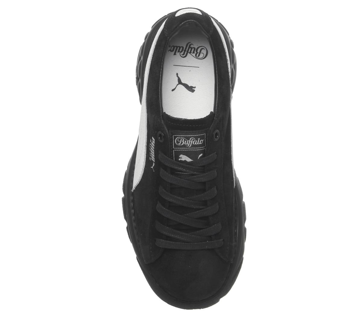 906fdd13f2c82 SENTINEL Donna Puma Suede Buffalo scarpe da ginnastica Puma scarpe da  ginnastica scarpe nere