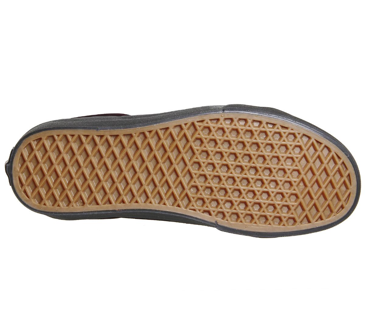 3244f9461d Womens Vans Sk8 Hi Reissue VELVET BURGUNDY BLACK Trainers Shoes