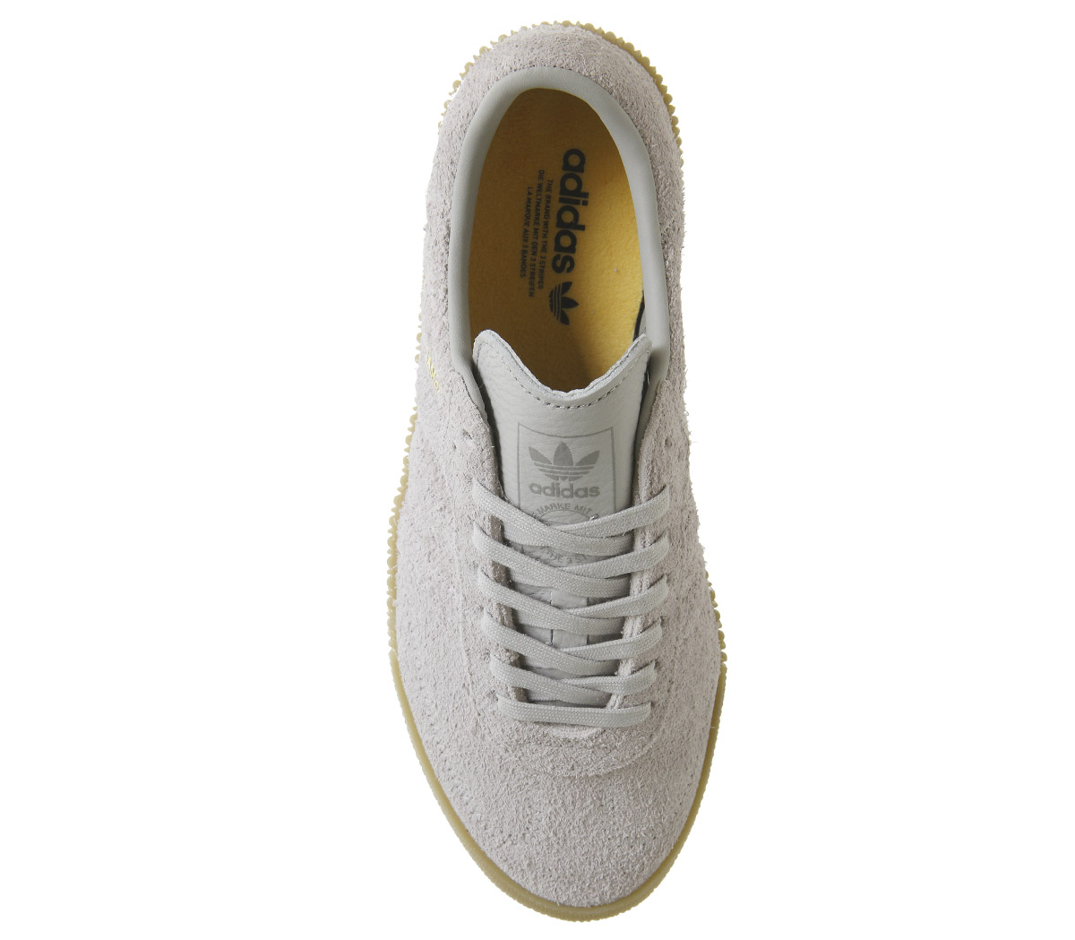 d4b514eee58f Womens Adidas Samba Rose Trainers Grey Two Trainers Shoes