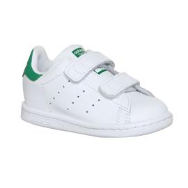 Kids Adidas Stan Smith Cf Td 3-9 White Green Kids  e0c528a5216ff