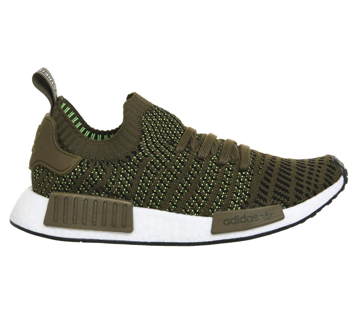 adidas nmd verde militare