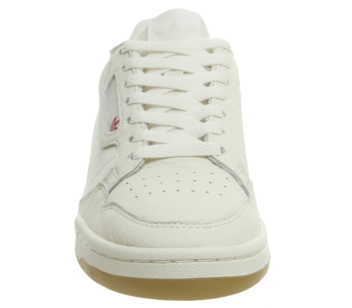 2c694073cba81a Adidas 80S Continental Trainers Off White Raw White Gum Shoes