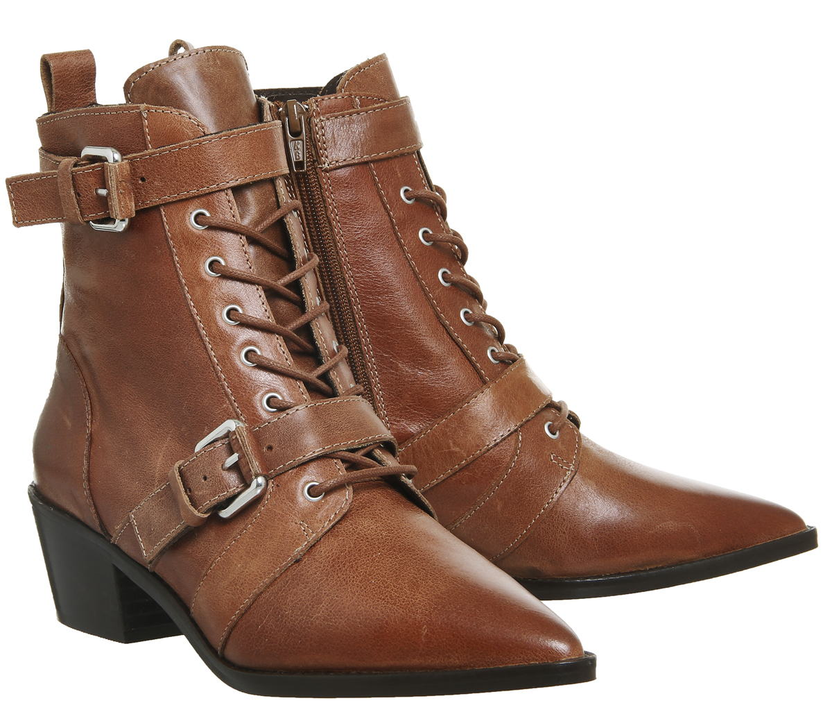Damenschuhe Office Ambassador Lace Up Stiefel TAN TAN Stiefel LEATHER Stiefel 7c91e4