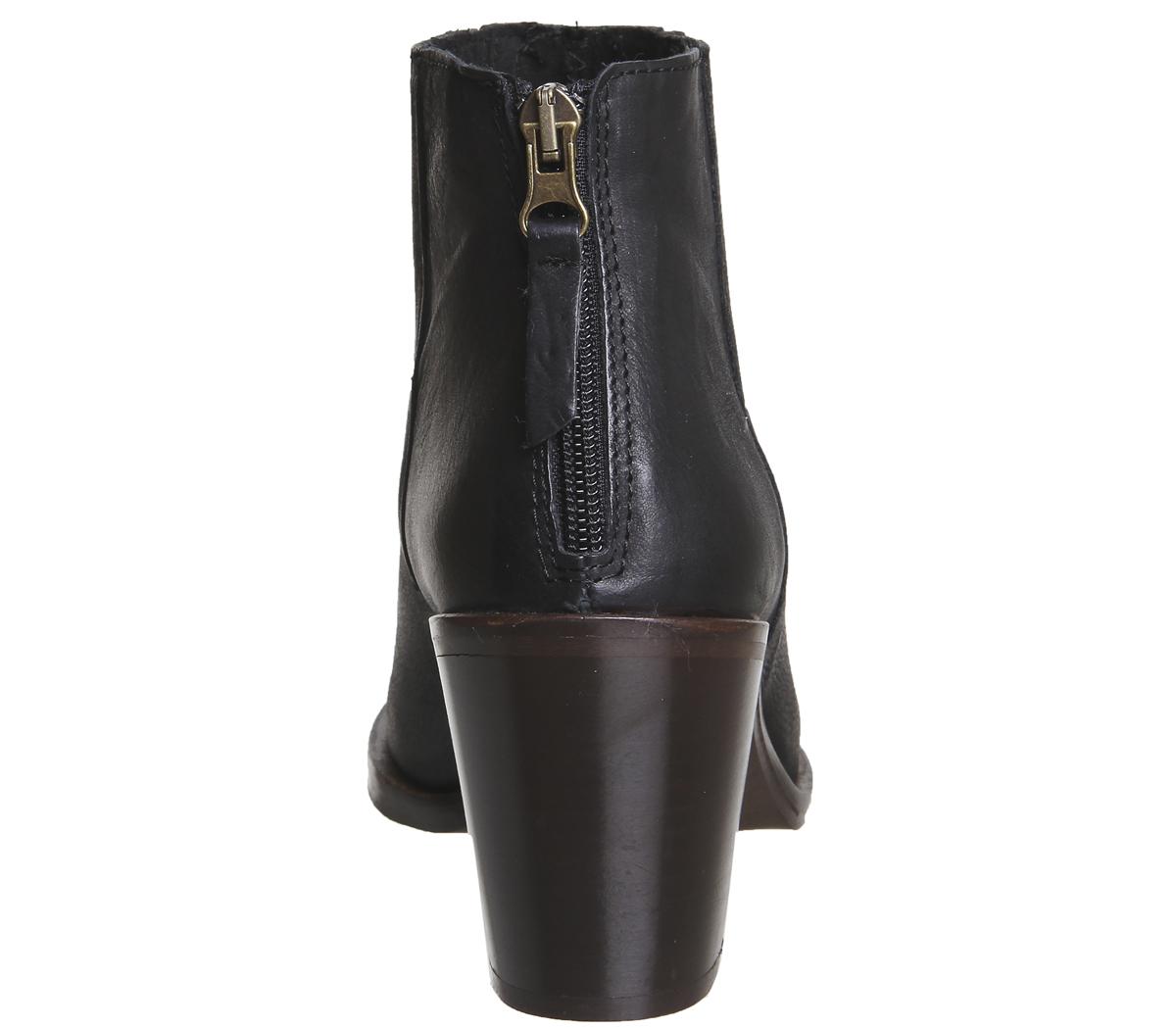 Da Donna Ufficio AMALFI posteriore con zip zip zip Western Stivali Stivali Western   0037b3