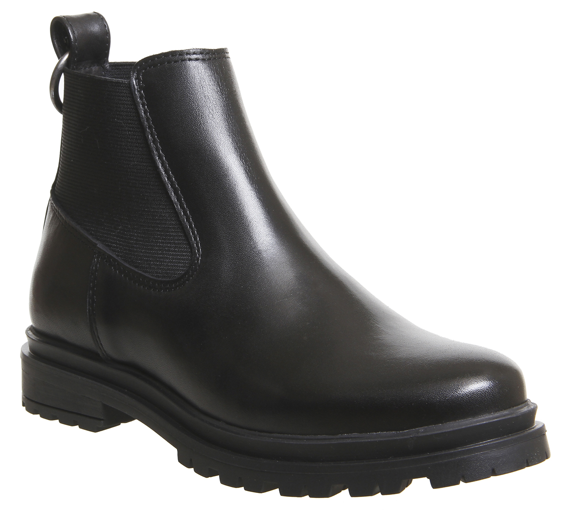bf7ecc1b2cd420 Sentinel Womens Shoe The Bear Akira Chelsea Boots Black Leather