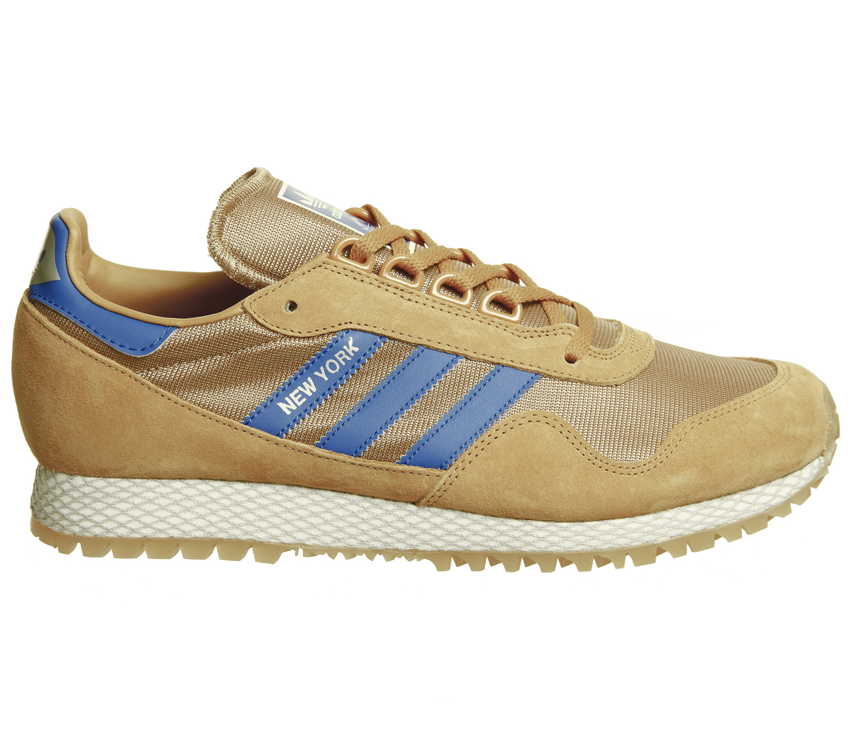innovative design 711f2 01a26 Adidas-New-York-Trainers-MESA-CARDBOARD-GUM-Trainers-