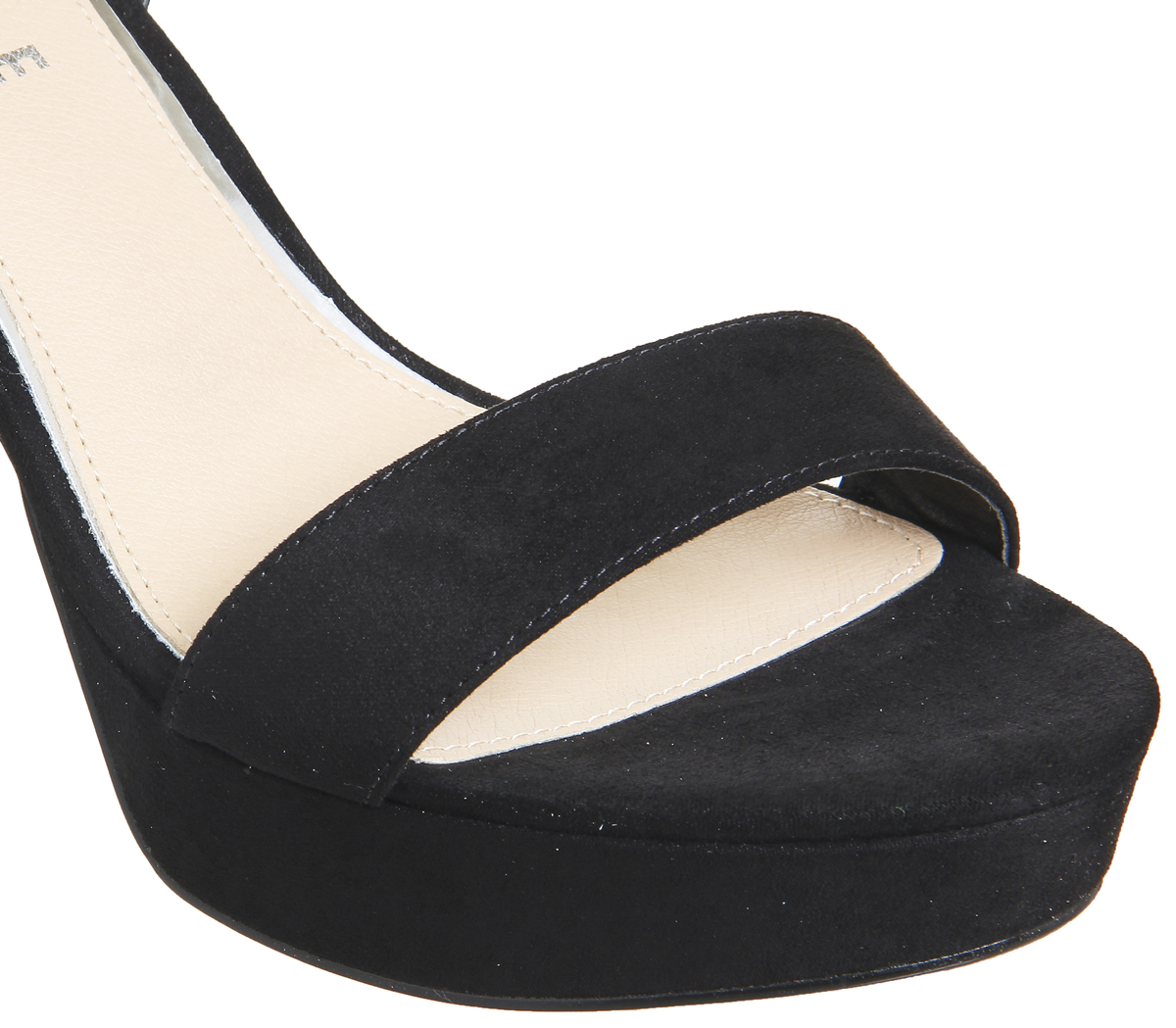 Damenschuhe BLACK Office Mossy Platform Sandales BLACK Damenschuhe Heels 8ffd11