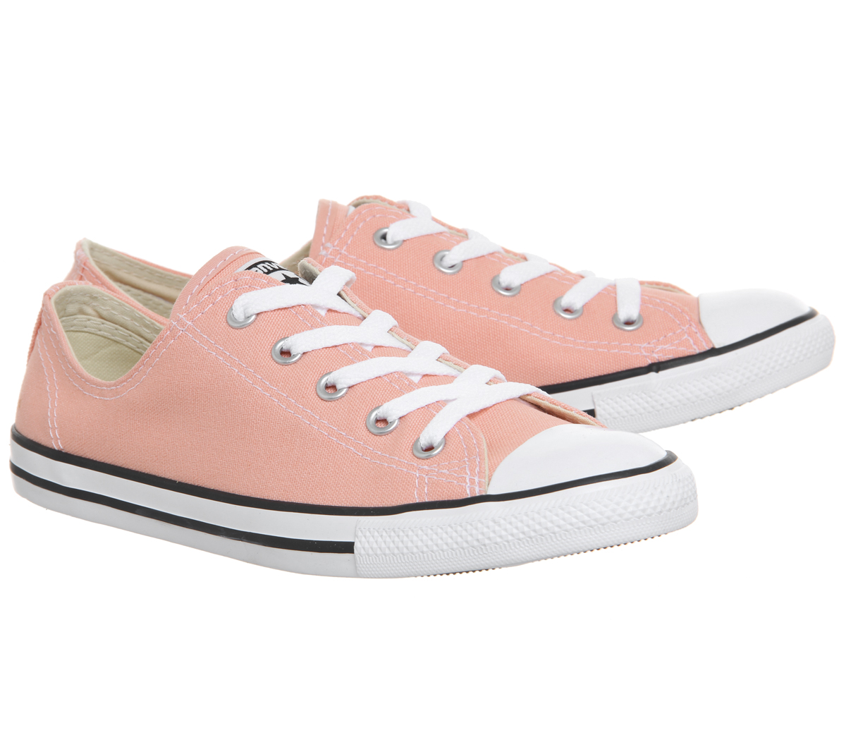 fb6c1a99a7c Womens Converse All Star Dainty Trainers Pale Coral Trainers Shoes ...
