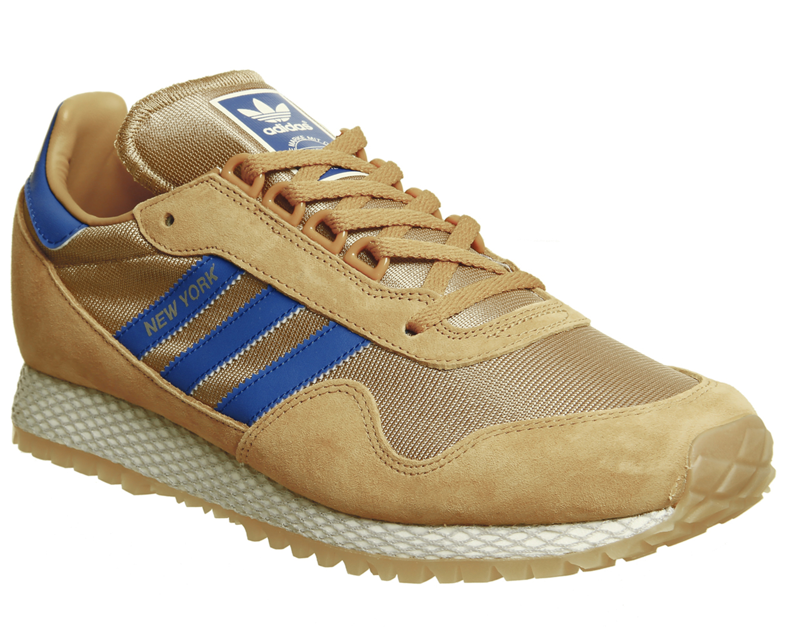check out 9a688 01457 Sentinel Adidas New York Trainers MESA CARDBOARD GUM Trainers Shoes.  Sentinel Thumbnail 2