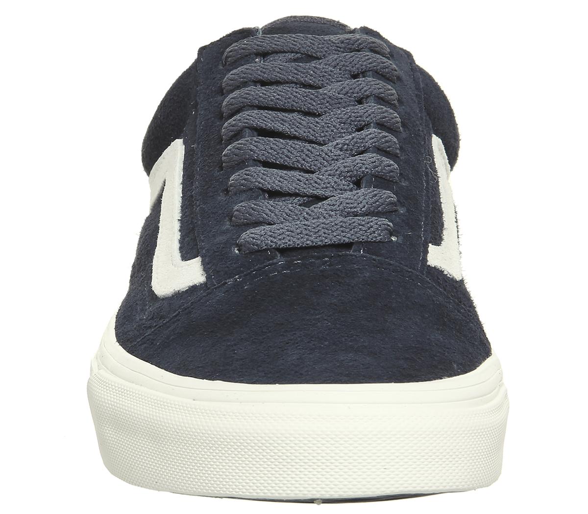 bc20abfadbd CENTINELA Hombres Vans Old Skool entrenadores noche parisina BLANC  zapatillas zapatos