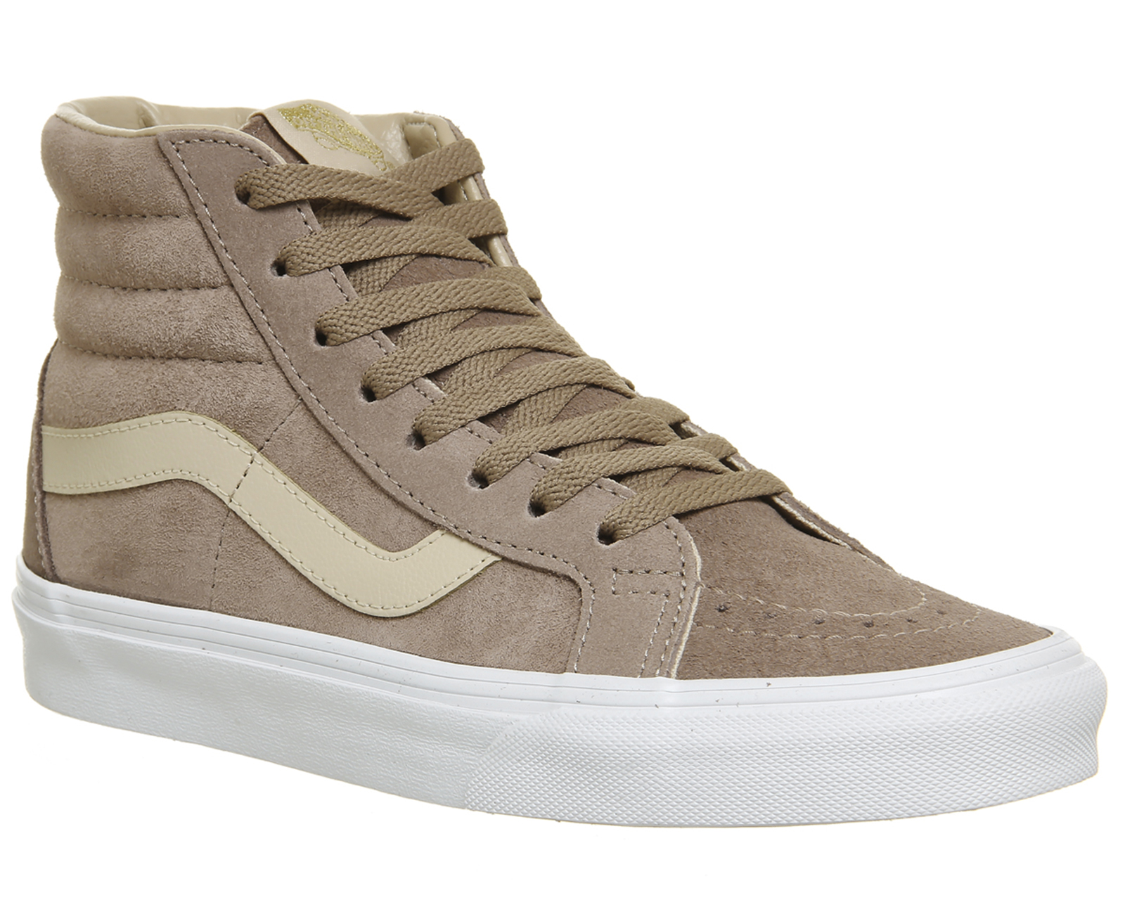 957c1abacc Sentinel Mens Vans Sk8 Hi Trainers Stucco Shifting Sand True White  Exclusive Trainers Sho
